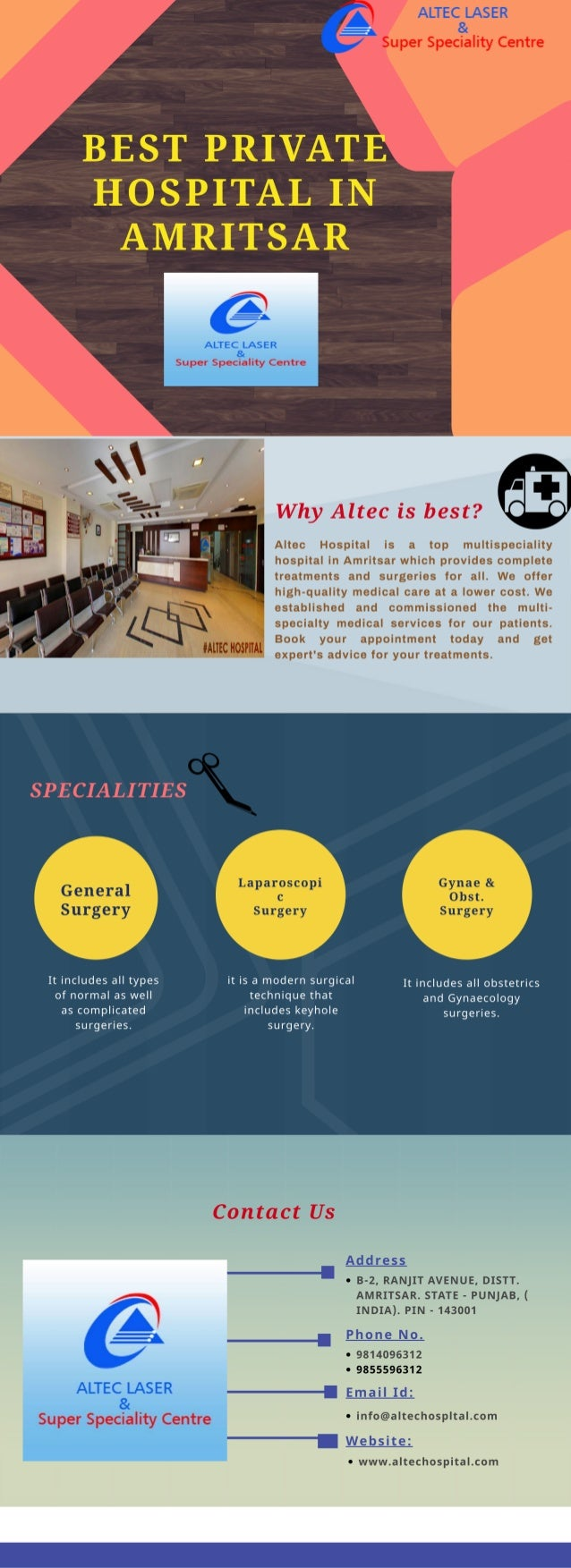 Altec Hospital-Best private hospital in Amritsar