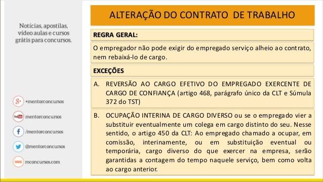 Direito do trabalho contrato de trabalho