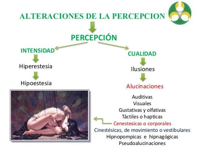 Alteraciones de la percepcion