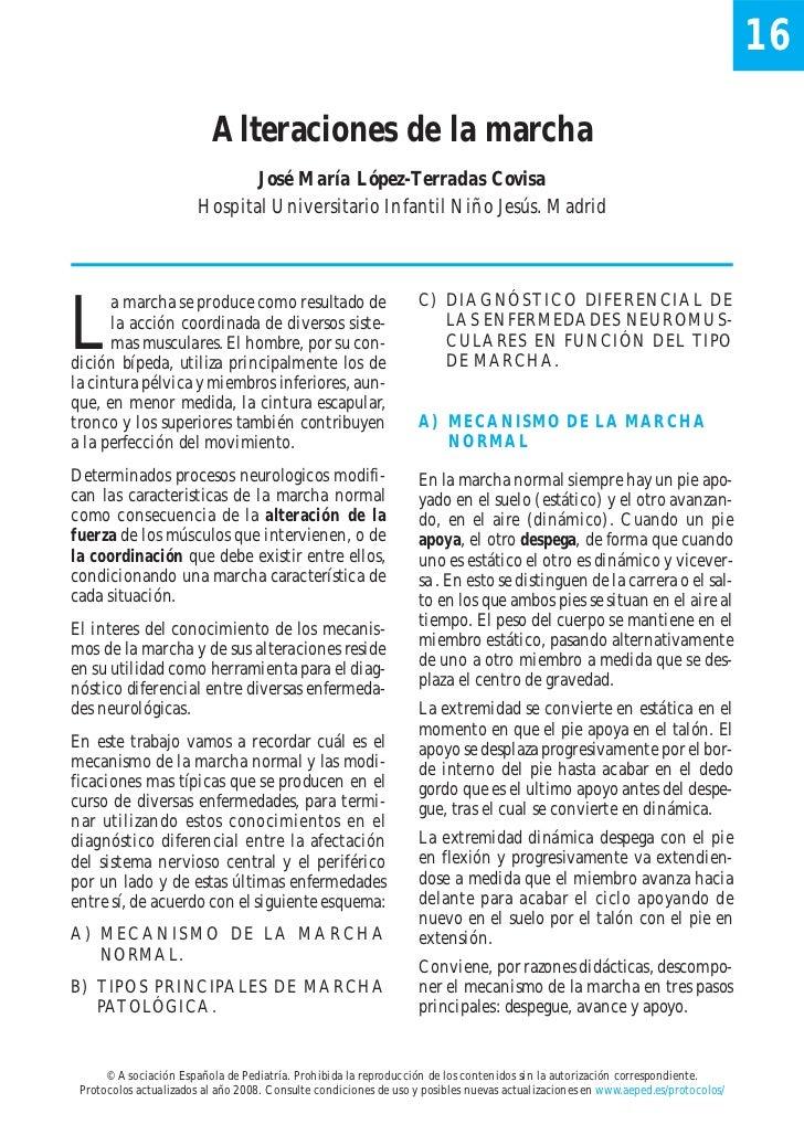16                          Alteraciones de la marcha                               José María López-Terradas Covisa      ...