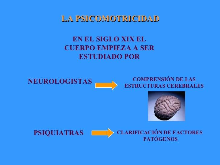 LA PSICOMOTRICIDAD EN EL SIGLO XIX EL CUERPO EMPIEZA A SER ESTUDIADO POR NEUROLOGISTAS   PSIQUIATRAS   COMPRENSIÓN DE LAS ...