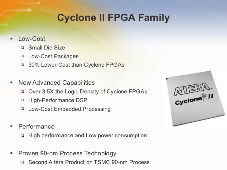 Cyclone II FPGA Overview