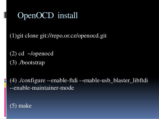Programming OpenRISC on Altera De0_nano