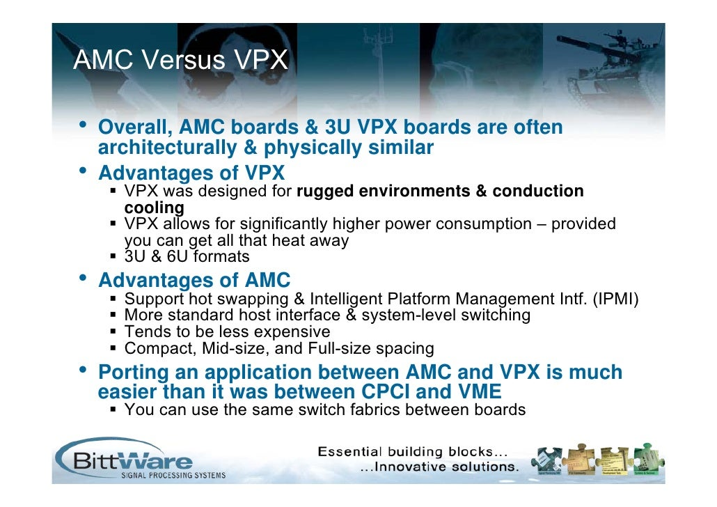 AMC & VPX Form Factor Boards With High Speed SERDES: Embedded World 2…