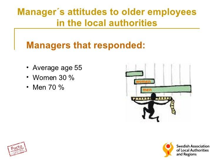 <ul><li>Managers that responded: </li></ul><ul><li>Average age 55 </li></ul><ul><li>Women 30 % </li></ul><ul><li>Men 70 % ...