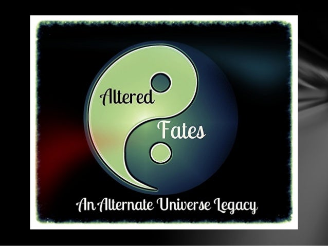 Back for more? Of course you are. This is the last of college for the generation two Altered Fates heirs Kitian Alpha and ...
