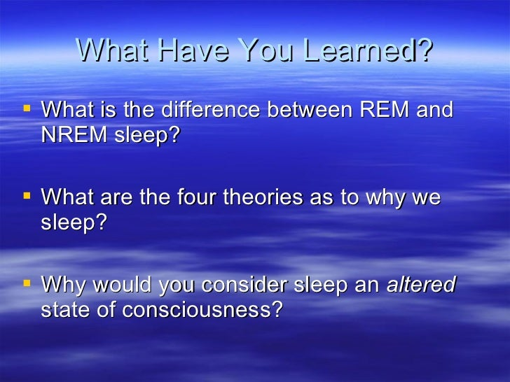 altered states of conciousness Medical definition of altered state of consciousness: any of various states of awareness (as dreaming sleep, a drug-induced hallucinogenic state, or.