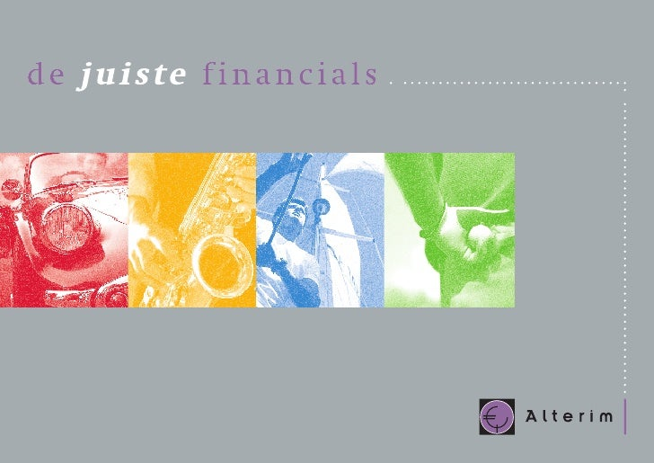 In onze, op dienstverlening gerichte, economie is de vraag naar financiële  expertise enorm. En stijgend. De eisen die men...