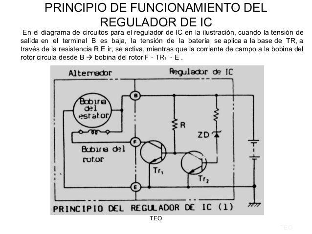 Circuito Regulador De Voltaje : Circuito alternador regulador de voltaje