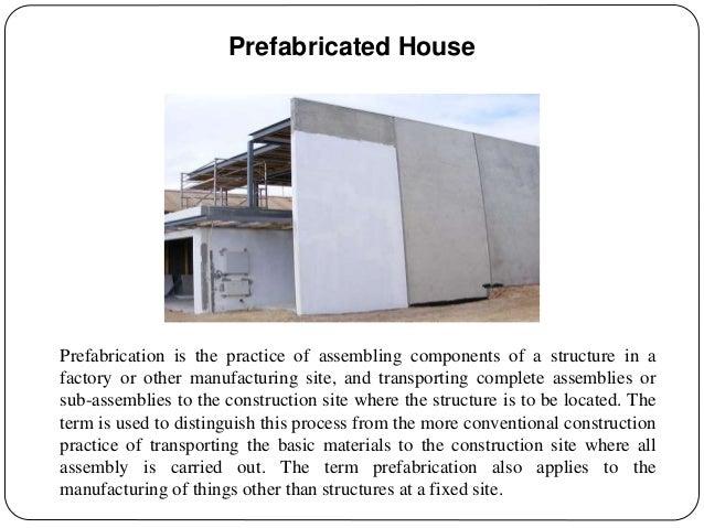 Alternate Building Materials