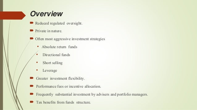 Alternate grp project hedge funds in india