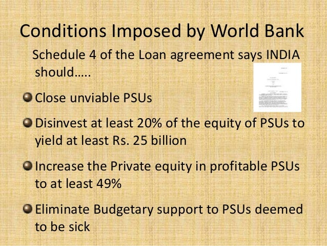 Loan Agreements With World Bank Imf Adb And Other Global Finances