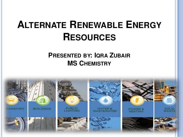 non depletable energy resources