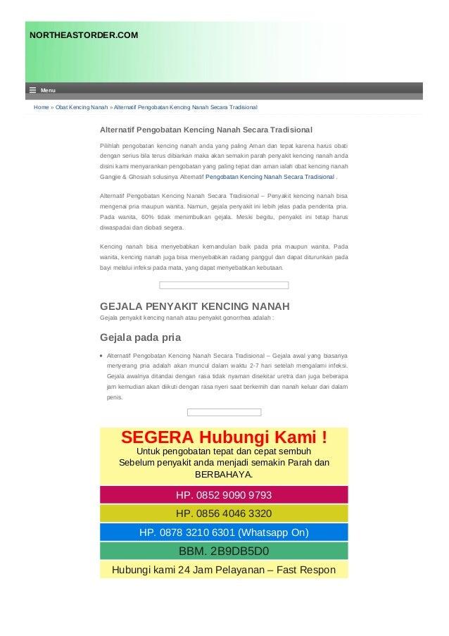 Home » Obat Kencing Nanah » Alternatif Pengobatan Kencing Nanah Secara Tradisional Alternatif Pengobatan Kencing Nanah Sec...