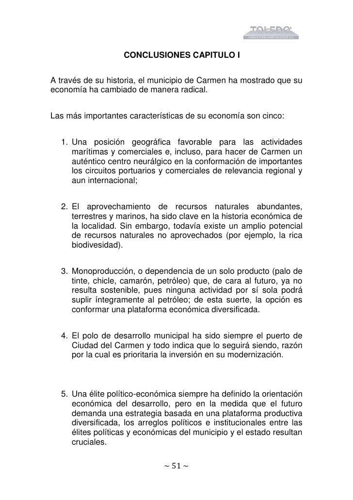 Alternativas economicas de Carmen 2006