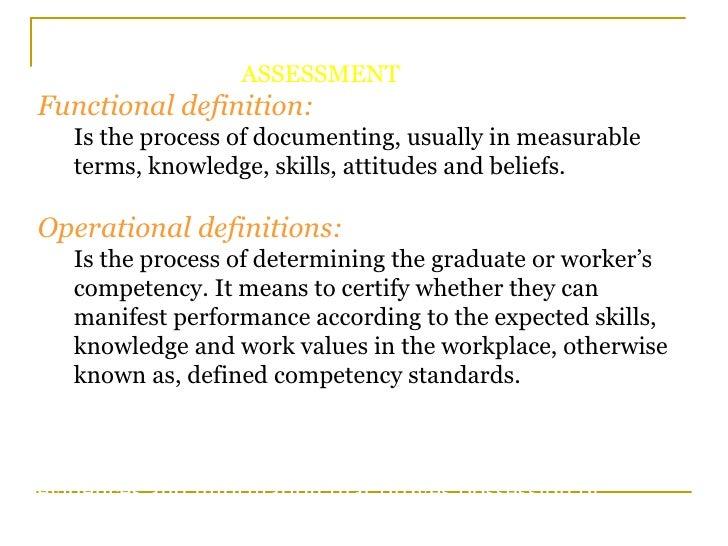 Alternative Education National Skills Standards And