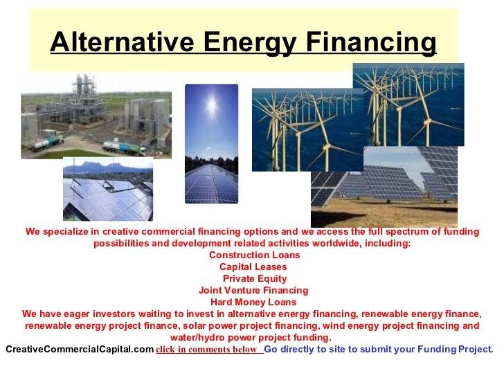 Alternative Energy Financing
