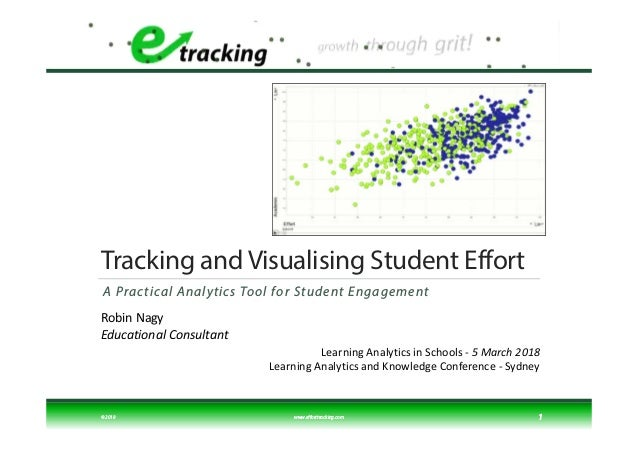 Tracking and Visualising Student Effort A Practical Analytics Tool for Student Engagement © 2018 www.efforttracking.com 1 ...