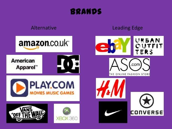 Brands<br />Leading Edge<br />Alternative<br />