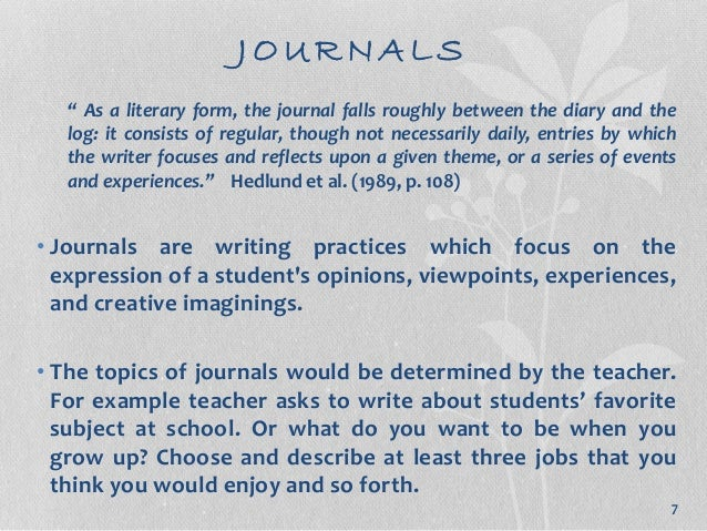 Sample of journal entry student.