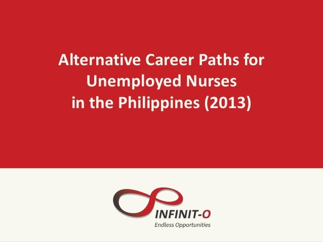 Alternative Career Paths for Unemployed Nurses in the Philippines (2013)