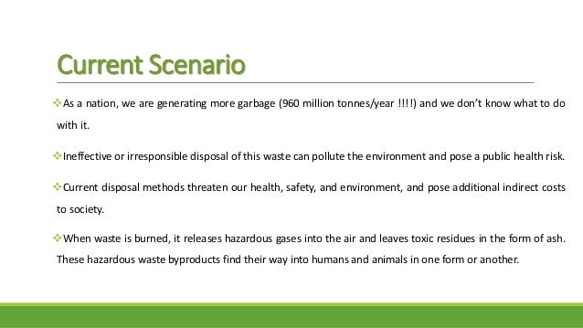 the level of waste management practices Title: enhanced waste management practices reduce carbon emissions and support lower landfill taxation levels author: carla smith keywords: environmental economics.