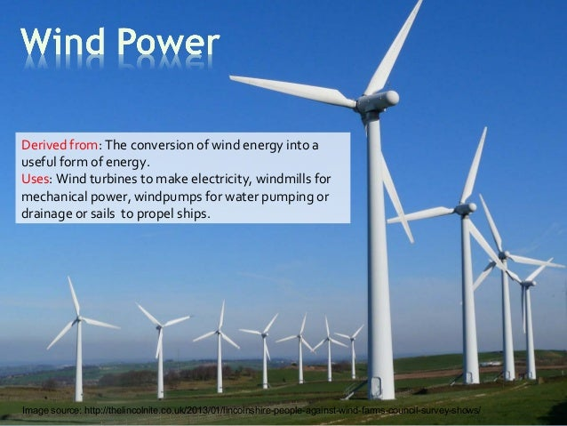 wind energy essay