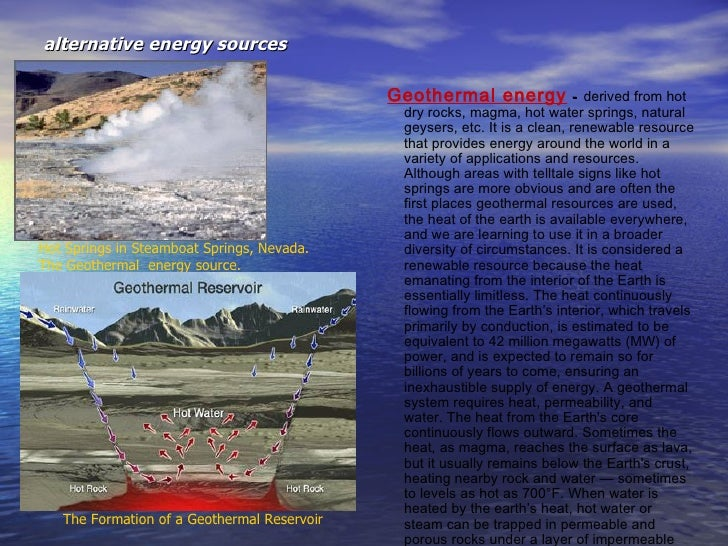 Best Places To Build Geothermal Energy World
