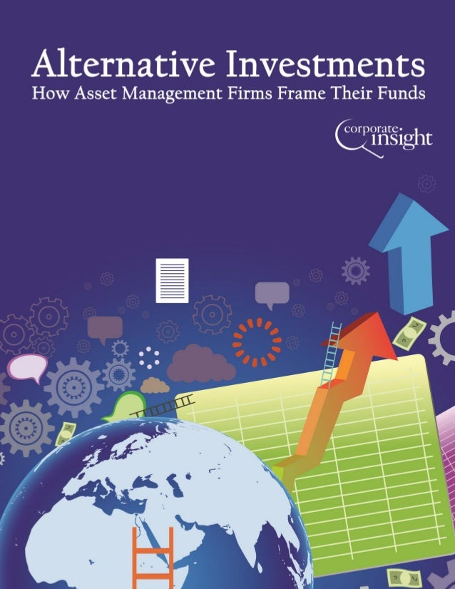 Title: Alternative Investments: How Asset Management Firms Frame Their Funds