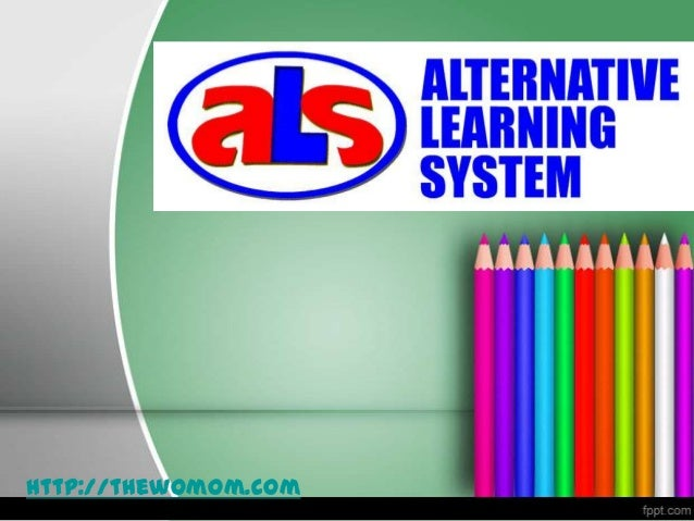Alternative learning system Essay Sample