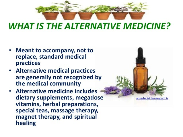 Why Do People turn to Alternative Medicine