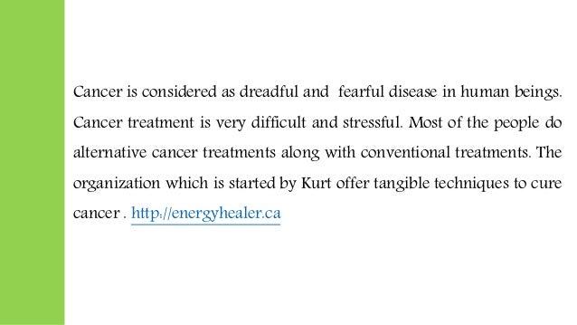 Alternative medicine for cancer