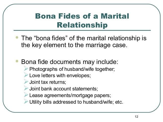 Alternative Methodologies for Marriage Cases (Green Card Through Mar…