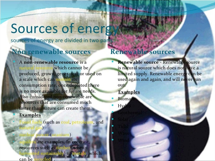 alternative energy the source of the There are all kinds of alternative energy sources that are infinite and pollution  free take a look at the common renewable resources generating.