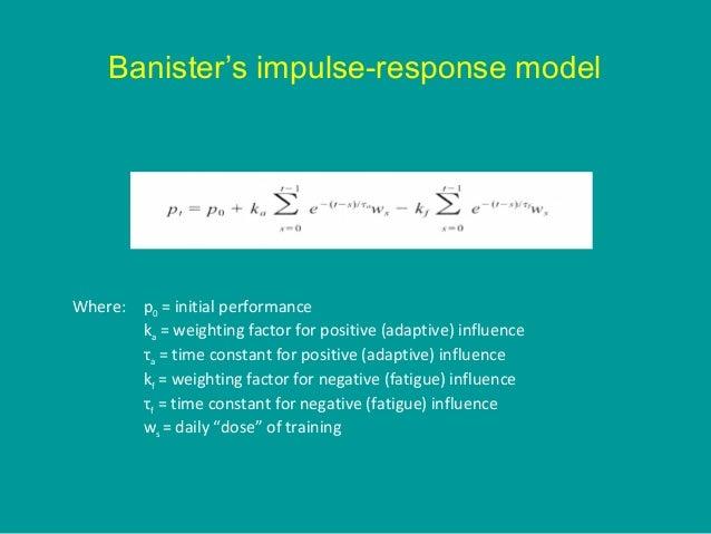 Alternatives to the impulse response model