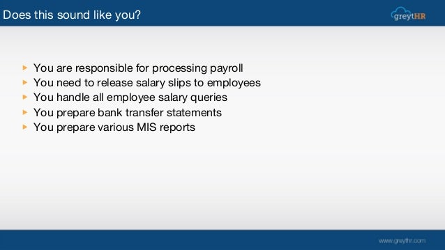 Alternative to spreadsheets for payroll management Slide 2