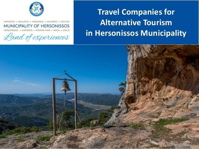 Travel Companies for Alternative Tourism in Hersonissos Municipality