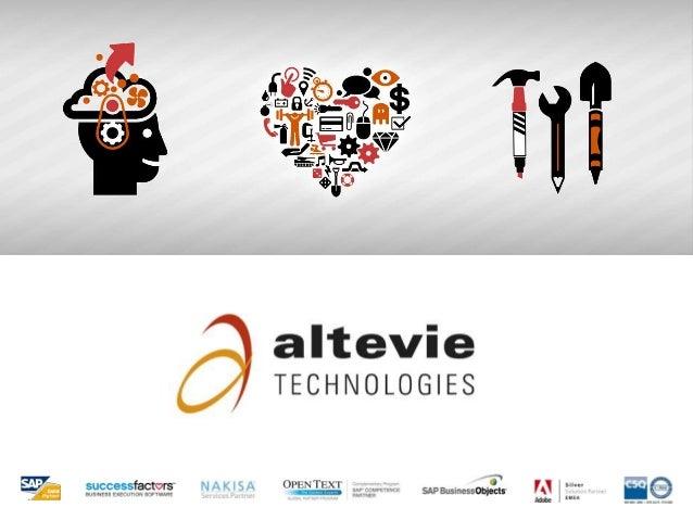"""Mission""""    Altevie Technologies fornisce consulenza     tecnologica informatica per la gestione     aziendale: organizzaz..."""
