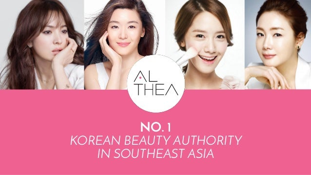 NO. 1 KOREAN BEAUTY AUTHORITY IN SOUTHEAST ASIA