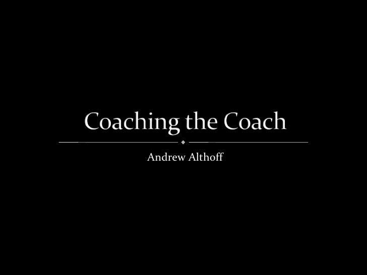 Andrew Althoff