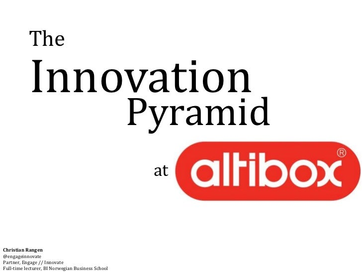 The           Innovation                                                   Pyramid                                        ...
