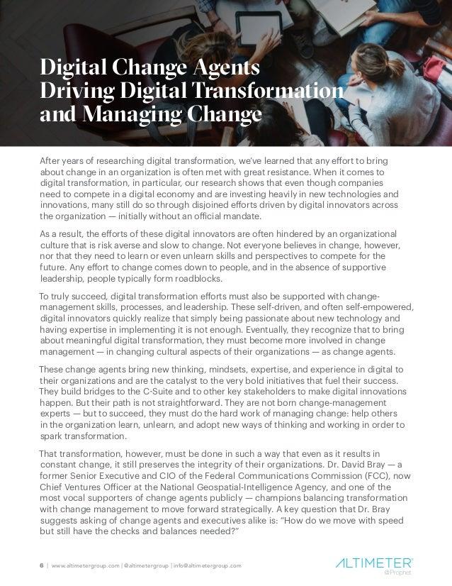 7   www.altimetergroup.com   @altimetergroup   info@altimetergroup.com Where Do Digital Change Agents Rise From? Digital t...