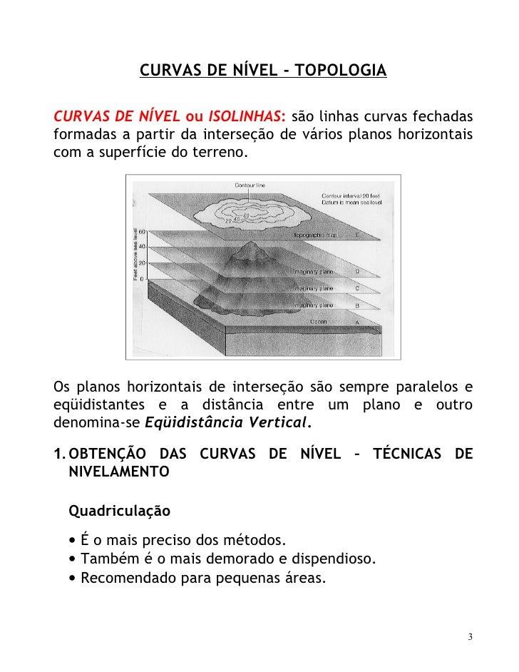 Altimetria perfis e_curvas_de_nivel Slide 3