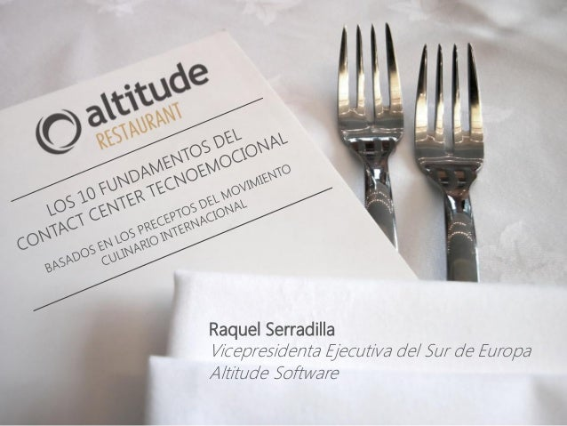 Raquel Serradilla Vicepresidenta Ejecutiva del Sur de Europa Altitude Software