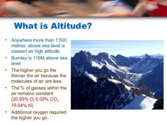 Altitude Training PNF RER Plyometrics - What is altitude