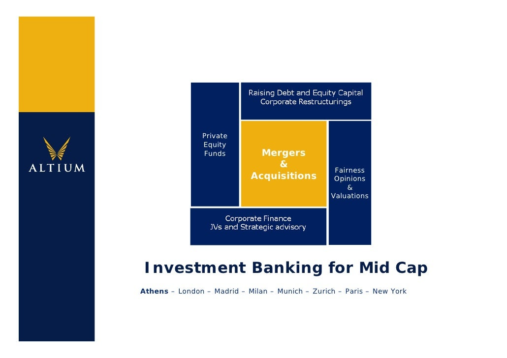 Private                 Equity                 Funds         Mergers                                  &                   ...