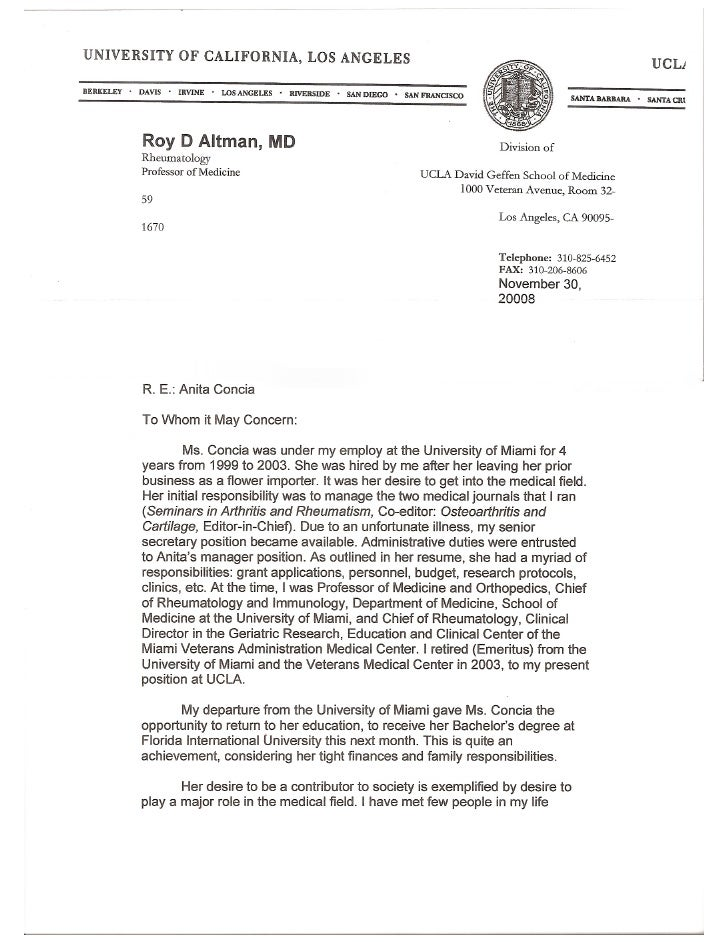 79 examples of recommendation letters recommendation letter for doctor