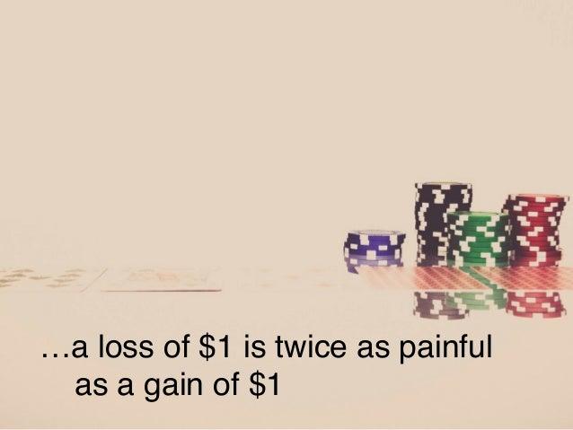 Prospect theory poker