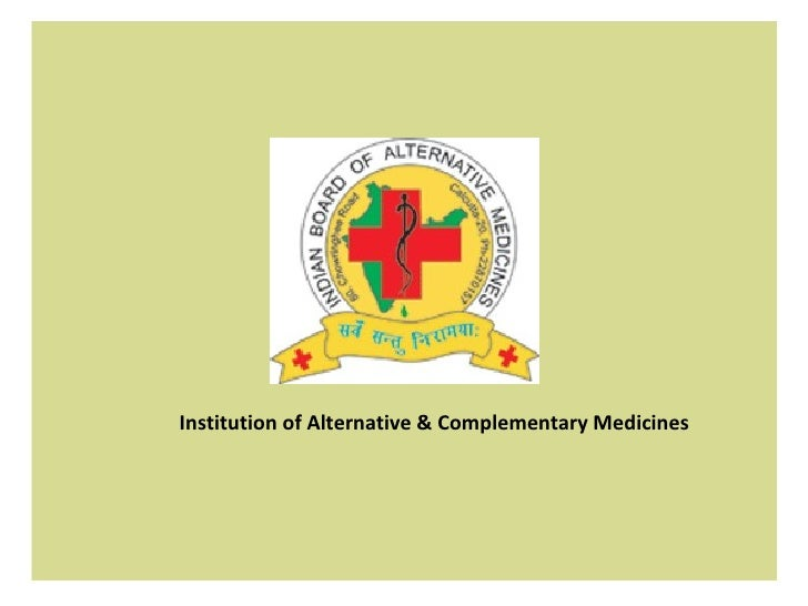 Institution of Alternative & Complementary Medicines