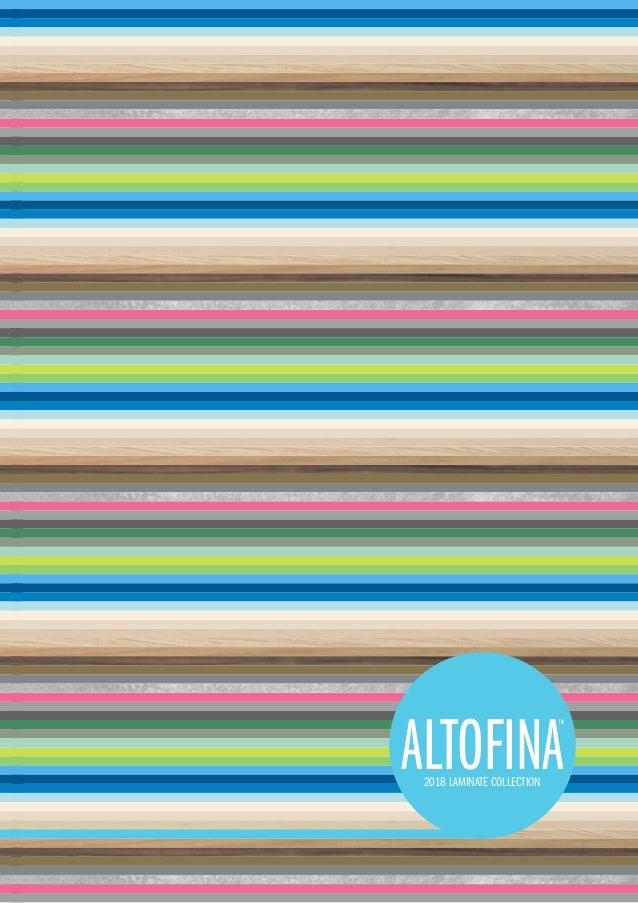 Altofina 2018 Brochure